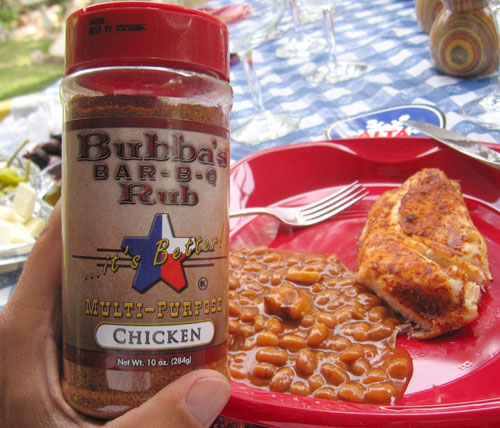 Bubba's Barbecue Rub