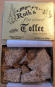 Ruth's Fine Almond Toffee