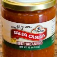 One of my goals here at MegaChomp is to do very quick reviews which are short and to the point.  I can sum this red habanero salsa up in two...