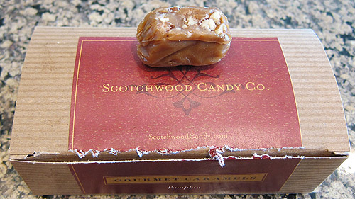 Scotchwood Candy Pumpkin Carmel