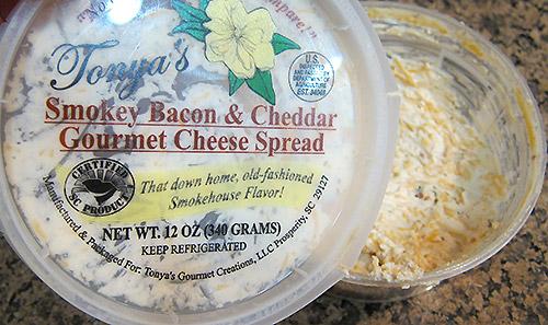 Tonya's Smokey Bacon & Cheddar Cheese Spread