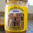 Someone stop me. I just ate half a bottle of Casa De Jorge Chipotle Salsa sitting here at my computer. This is a very nice, low-medium heat salsa with a […]